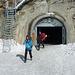 Stollenausgang Jungfraujoch