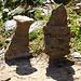 zwei Eisenhaltige Steine