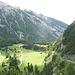 Bargis und oben Alp Mora in den Wolken