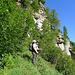 Auf dem Abstieg nach Stabbio di Mezzo