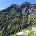 die E-Flanke der cima d'Efra