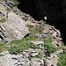 Befestigte Steilstufe zu Cascina di Lago