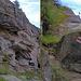 Felsbänder: unten drunter / oben drüber