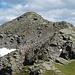 Zwischenspitze (2650 m), vom Grat zwischen Zwischenspitze und der Valisera aus gesehen.