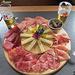 Piatto del Leit con salumi nostrani e formaggio dell'alpe...tutto OTTIMO!!!
