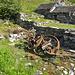 Ueberreste der einstigen Holztransportseilbahn