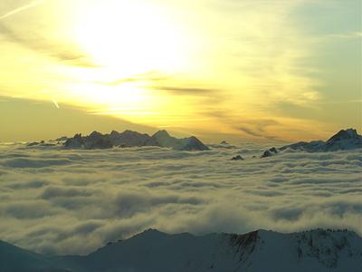 Vanilla Sky...Blick vom Stockhorn Richtung Vanil Noir und Gastlosen