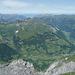 Elm und hinten das Züri Oberland - ein Wink entfernt von zuhause