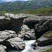 ein kleiner Canyon, ungeeignet für Wildwasserfahrten