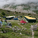 Fest installierte Zelte