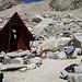 Kleine Schutzhütte für 3 Personen