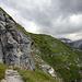 …dann ins Tal vom unteren Grindelwaldgletscher…