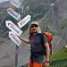 """Ab der Bäregg ist der Hüttenweg Blau-Weiss markiert, bis zum """"Rotes Gufer"""" etwa T3. Hier noch einige Alternativen zur Schreckhornhütte… (-;"""