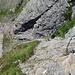 Gesicherte Steilstufe