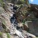 Und nochmals eine Bachquerung und Steilstufe