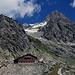 Schreckhornhütte mit Schreckhorn