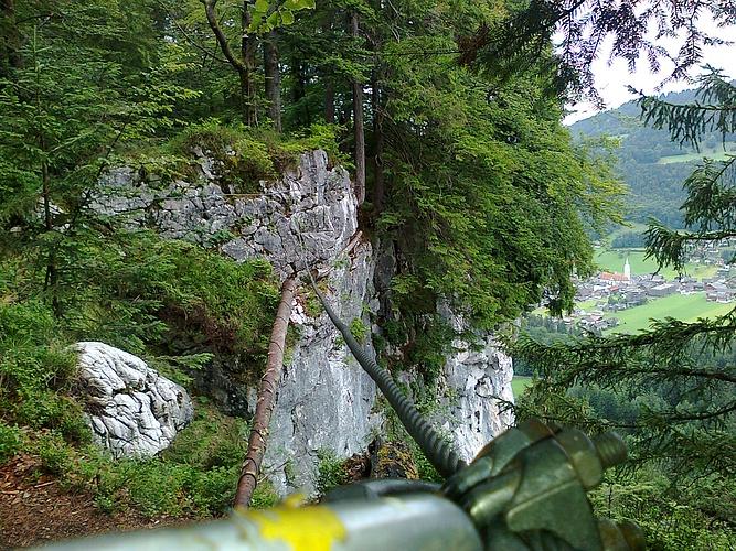 Klettersteig Känzele : Klettersteig auf dem känzele fotos hikr