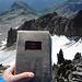 Und da ist es, das wahrscheinlich älteste Gipfelbuch der Schweiz