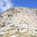 Dalla Bocchetta, sguardo alla cresta di salita (cresta SE) del Pizzo Croslina