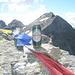 Birra di vetta con triade