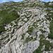 Gesicherte Passage am Gipfelaufbau