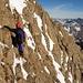 im Abstieg durch die Südwand II
