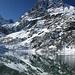 die Ehrwalder Sonnenspitze spiegelt sich im Seebensee