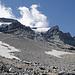 Crap Grond mit den beiden Gletscherzungen