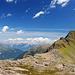 Oberhalb des Oberstkogels, Blick nach Norden zum Karwendel