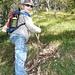 Zweite Tour auf den Ruchen am 8.10.2006: Mein Göttibueb Silas ist schon ein richtiger Bergsteiger! :-)