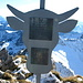 Der Ochsen-Gipfelkopf auf dem Ochsen 2188m