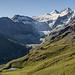 Blick in den hinteren Teil des Val de Moiry