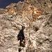 Die ersten Meter im Klettersteig