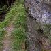 weiter den Felsen entlang zum Roherberg