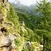 Die Welt der VAVM - hier mit Blick zum tiefen Graben, welcher sich von der Bocchetta di Larecc hinunterzieht