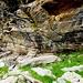 Ruine eines Alpgebäudes der Ganne di Larecc