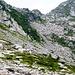 Zwischen Crestone und Passo di Redorta - ausgedehnte Geröllfelder laden zum Hüpfen ein