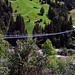 Die Hängebrücke Hohstalden Paradiesli über die Engstlige