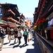 Zermatt ist gut besucht.