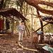 Das erste Basislager im Bergwald von Sapa