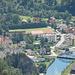 blick nach neuberg: mürzbrücke und zisterzienserkloster