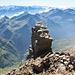 Tiefblick ins Val Calanca