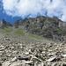 Blick zurück zur Cima dei Cogn (links Passo di Revi)