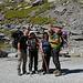 Vollgepackt machen wir uns auf den Weg zurück nach Kandersteg und freuen uns auf den Samstag