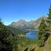 Weg vom See und hinauf nach Gianda da Güve um von dort aus das Fedoztal nach Ca d'Starnam zu queren.