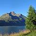 Der Berg der Oberengadiner Berge. Der Piz da la Margna.