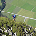 Die letzten Meter zum Gipfelkreuz der Rotwand - berauschend !
