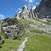 immer noch Aufstieg (im Abstieg nach Linthal)