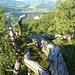 auf dem Grat, im Hintergrund: Unter-Hauenstein