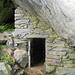 Antrona. Gronda situata in una grotta interna